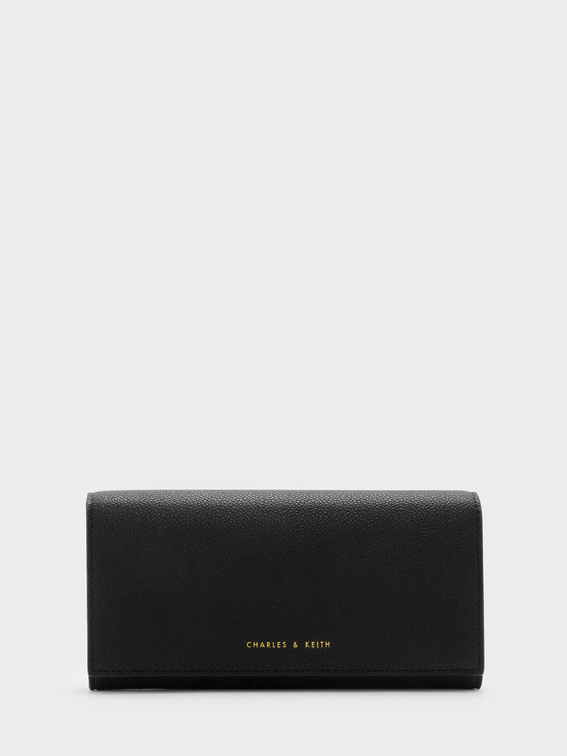 Basic Long Wallet, Black, hi-res