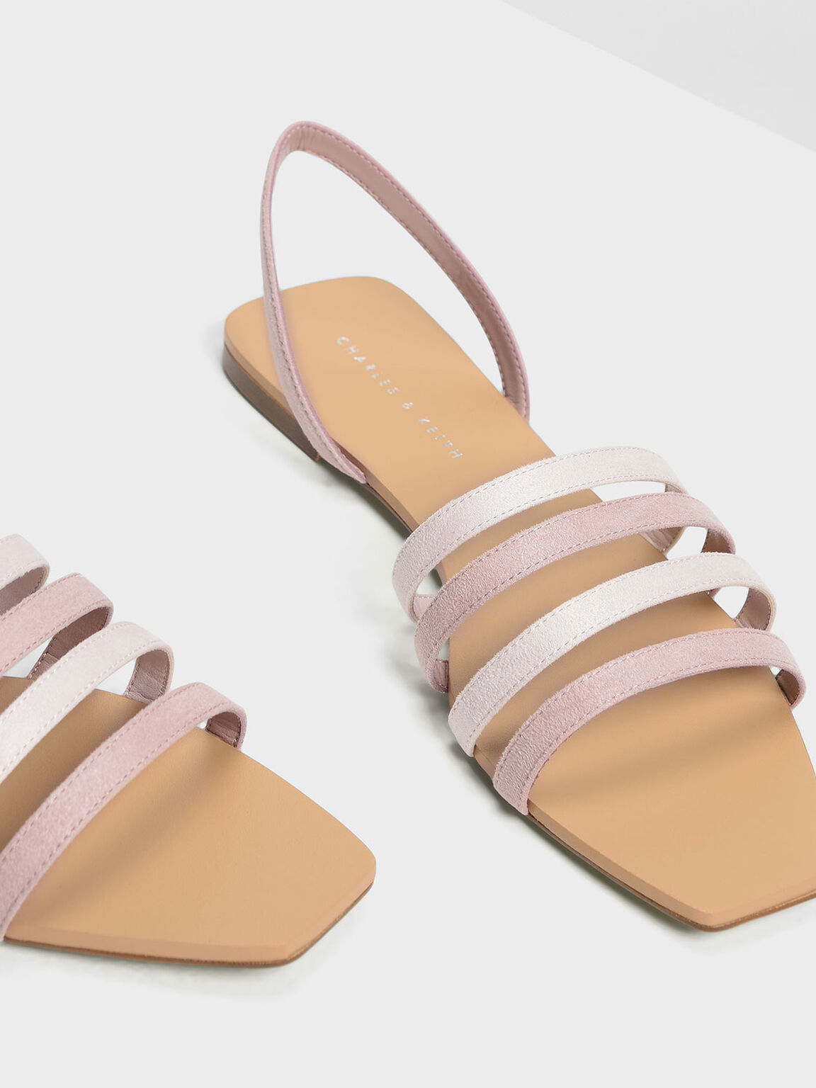 4-bar Sandals, Blush, hi-res
