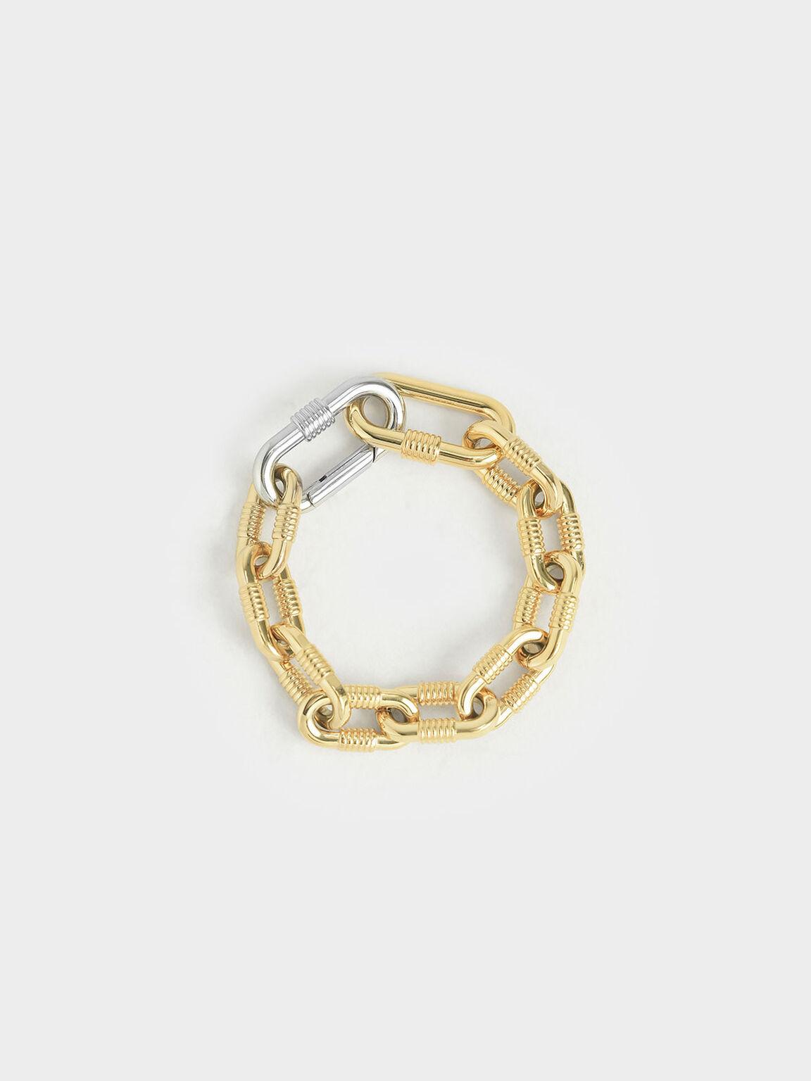 Multicoloured Chain Link Bracelet