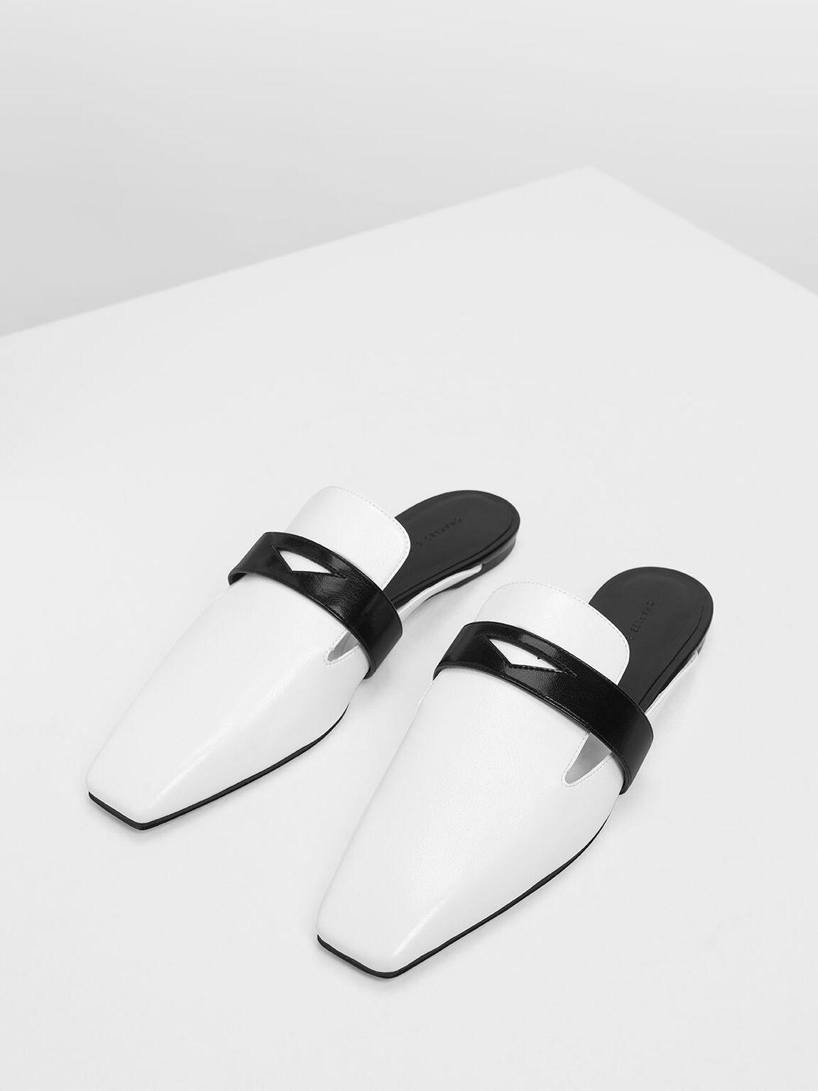 經典穆勒拖鞋, 白色, hi-res