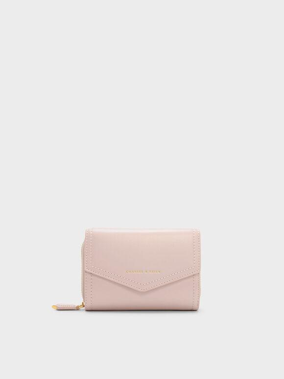 Envelope Small Wallet, Blush, hi-res