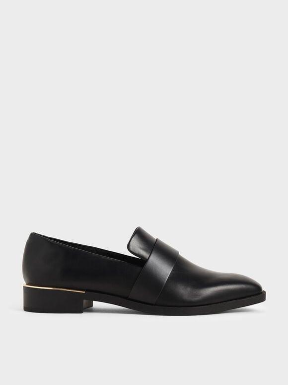 寬帶樂福鞋, 黑色, hi-res