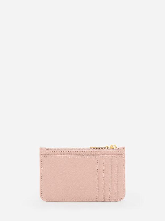 拉鍊式卡夾, 膚色, hi-res