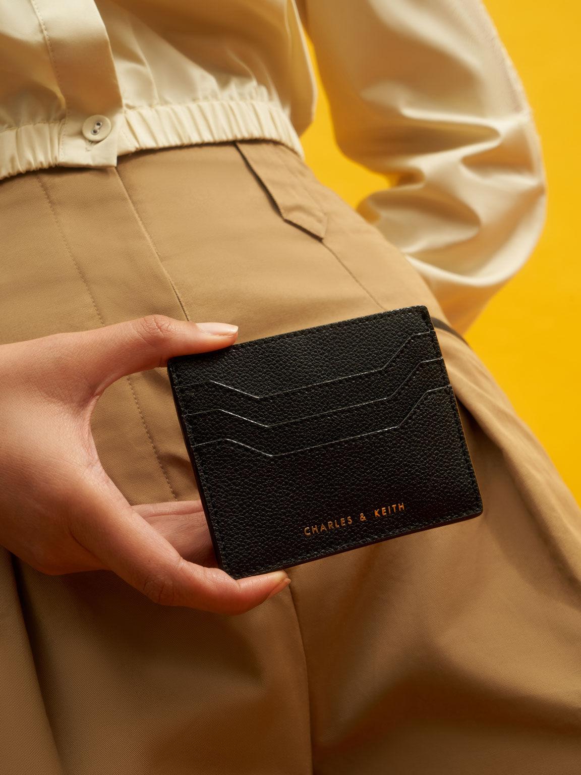Multi-Slot Card Holder, Black, hi-res
