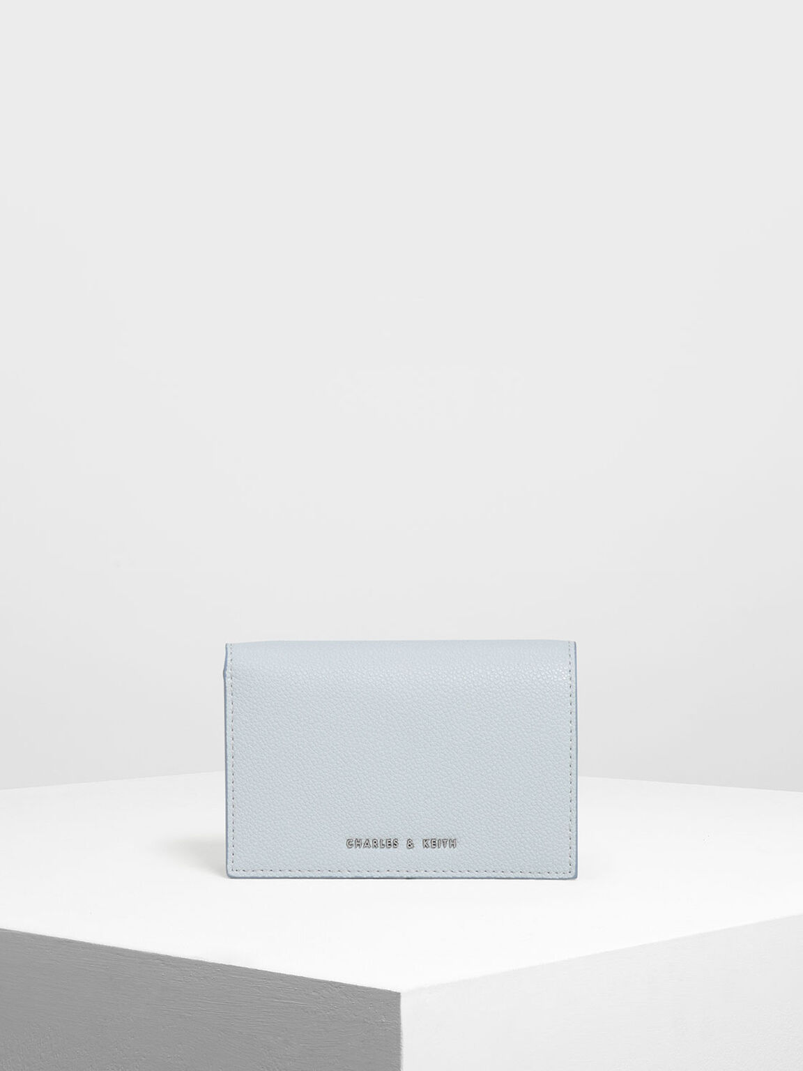 Classic Fold Wallet, Light Blue, hi-res