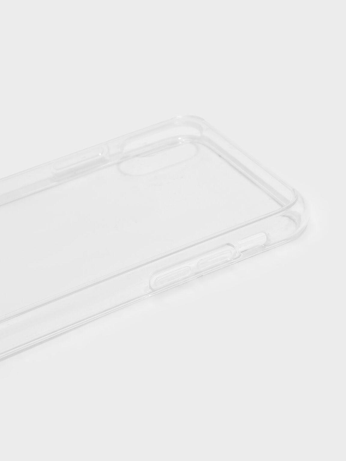 Transparent iPhone Case, White, hi-res