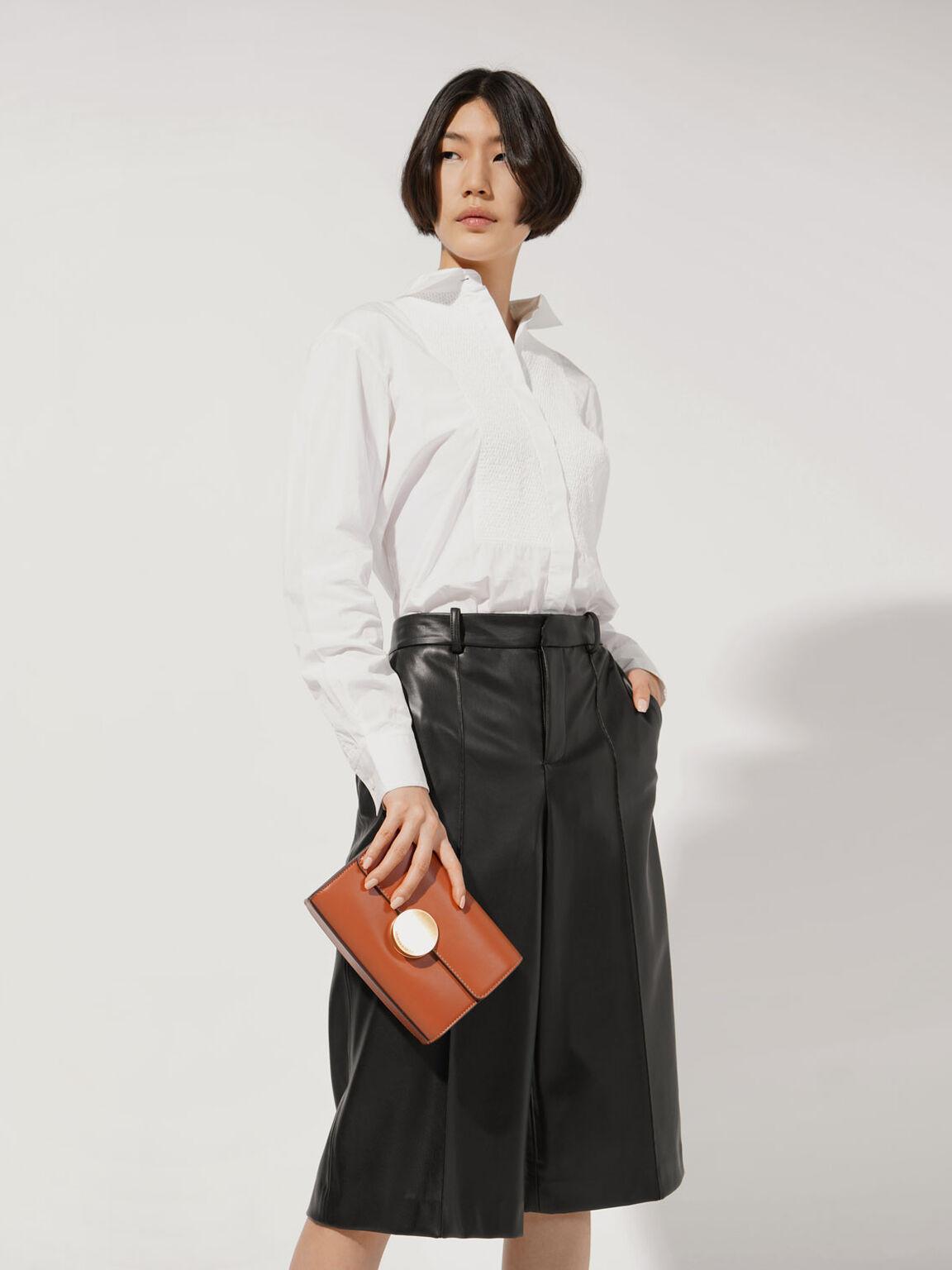 Grommet Sling Bag, Orange, hi-res