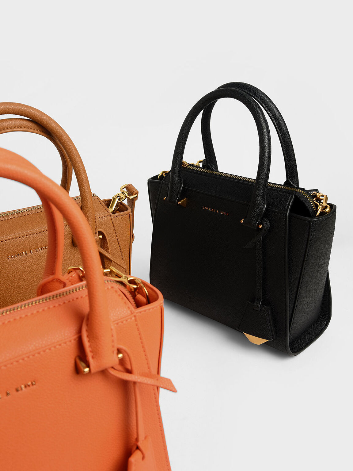 經典小型手提包, 黑色, hi-res
