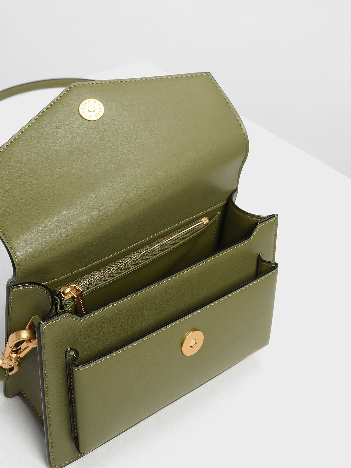 Envelope Bag, Mint Green, hi-res