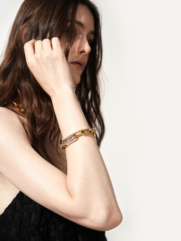 Chain Link Bracelet, Multi, hi-res