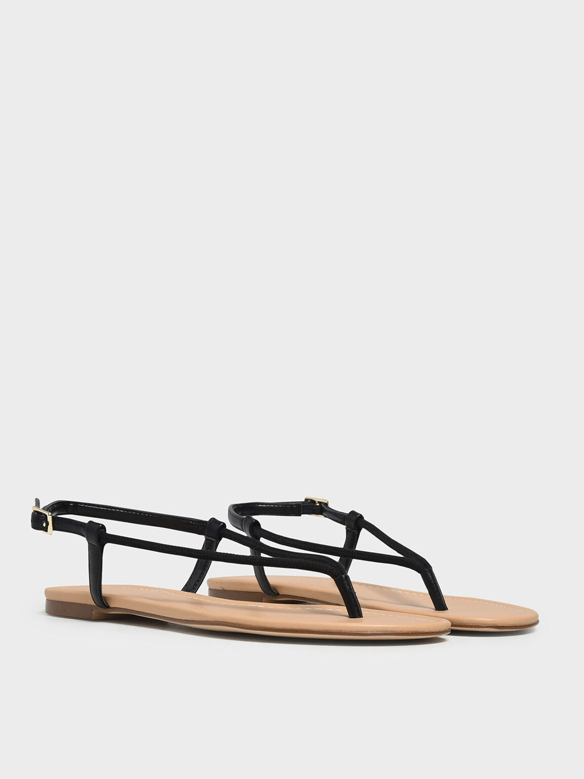 Classic Thong Sandals, Black, hi-res