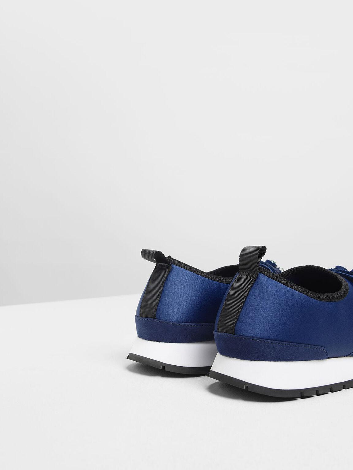 寶石裝飾球鞋, 深藍色, hi-res