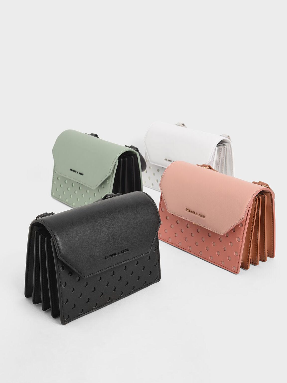 Small Top Handle Bag, Black, hi-res