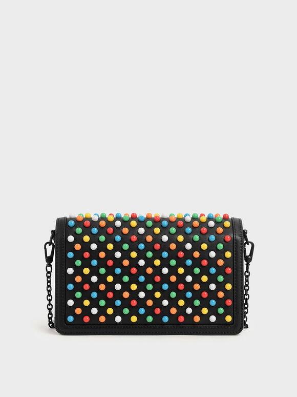 Studded Clutch, Multi, hi-res