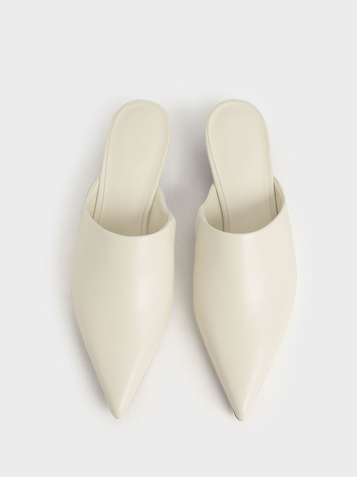 尖頭穆勒鞋, 奶油色, hi-res