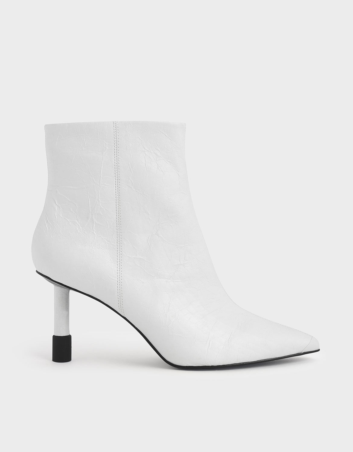 Stiletto Heel Ankle Boots | CHARLES