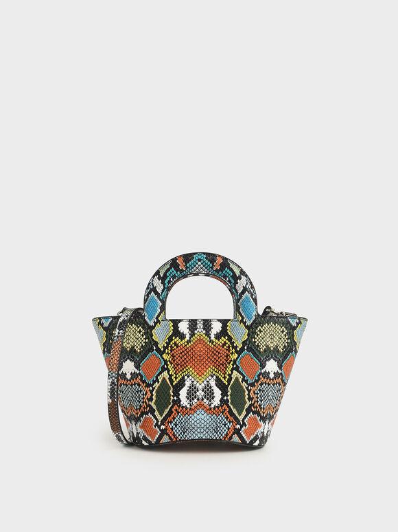 蛇紋鞦韆包, 混色, hi-res