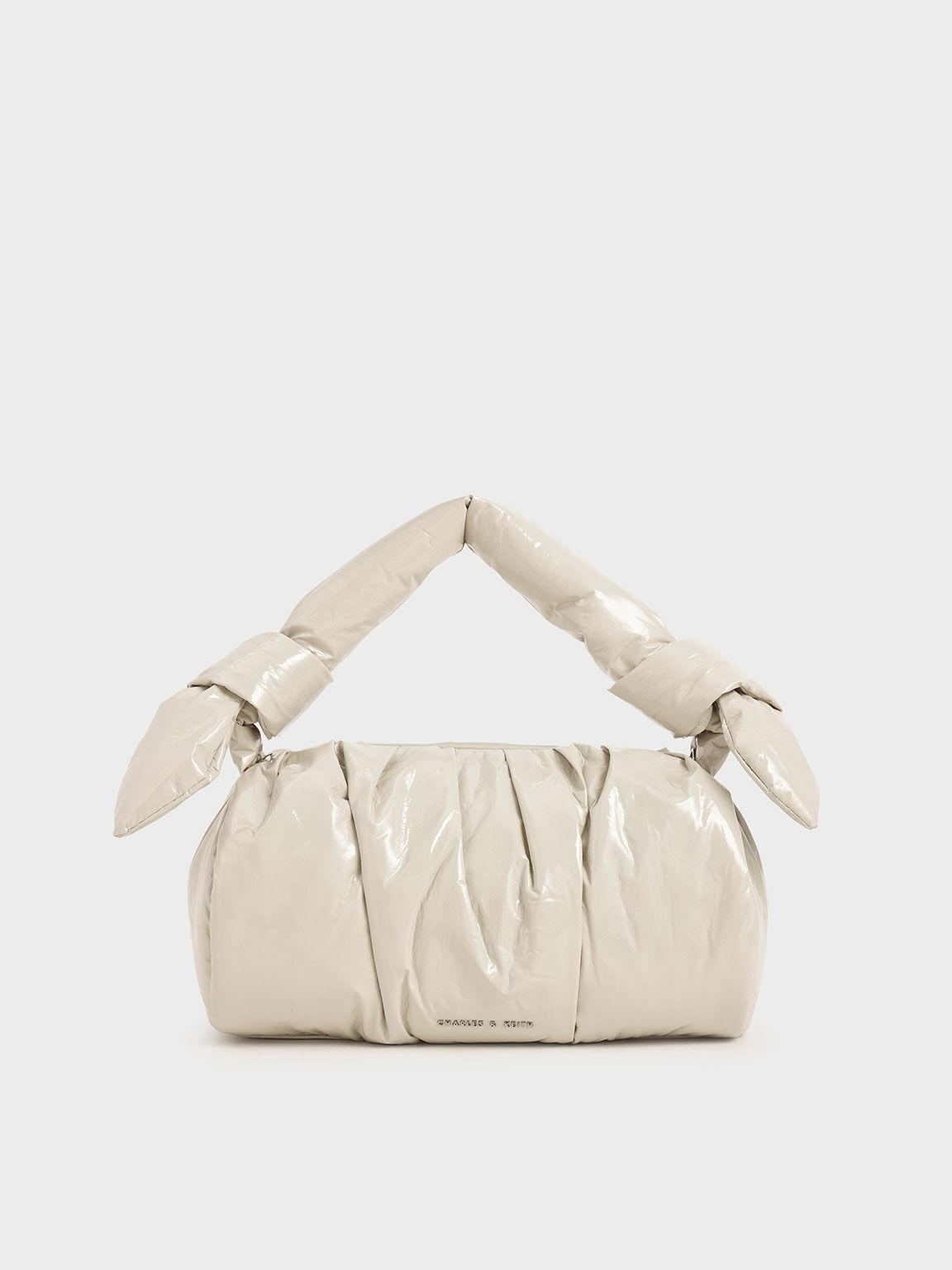 The Kelly Monogram 2pc purse in beige  Personalized handbags