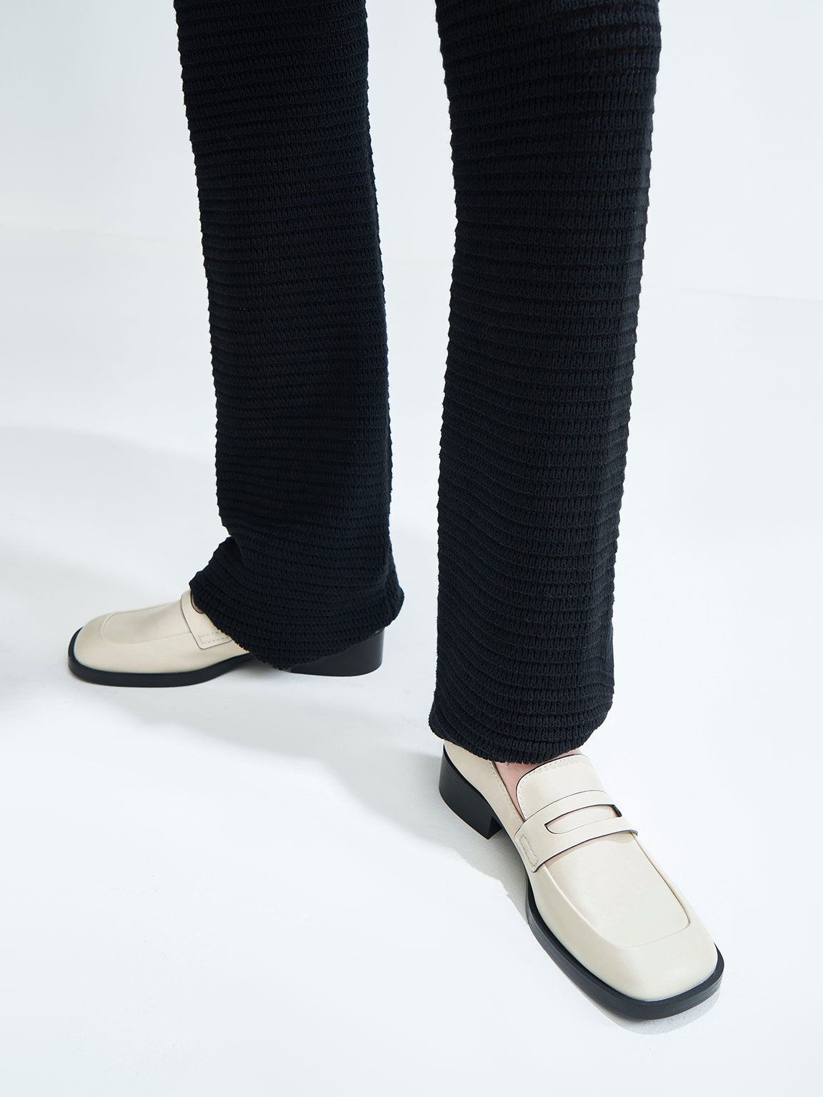 Penny Loafers, Chalk, hi-res