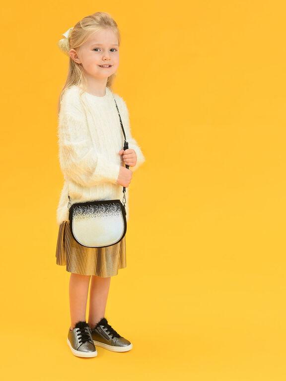Kids Holographic Gradient Crossbody Bag, Multi