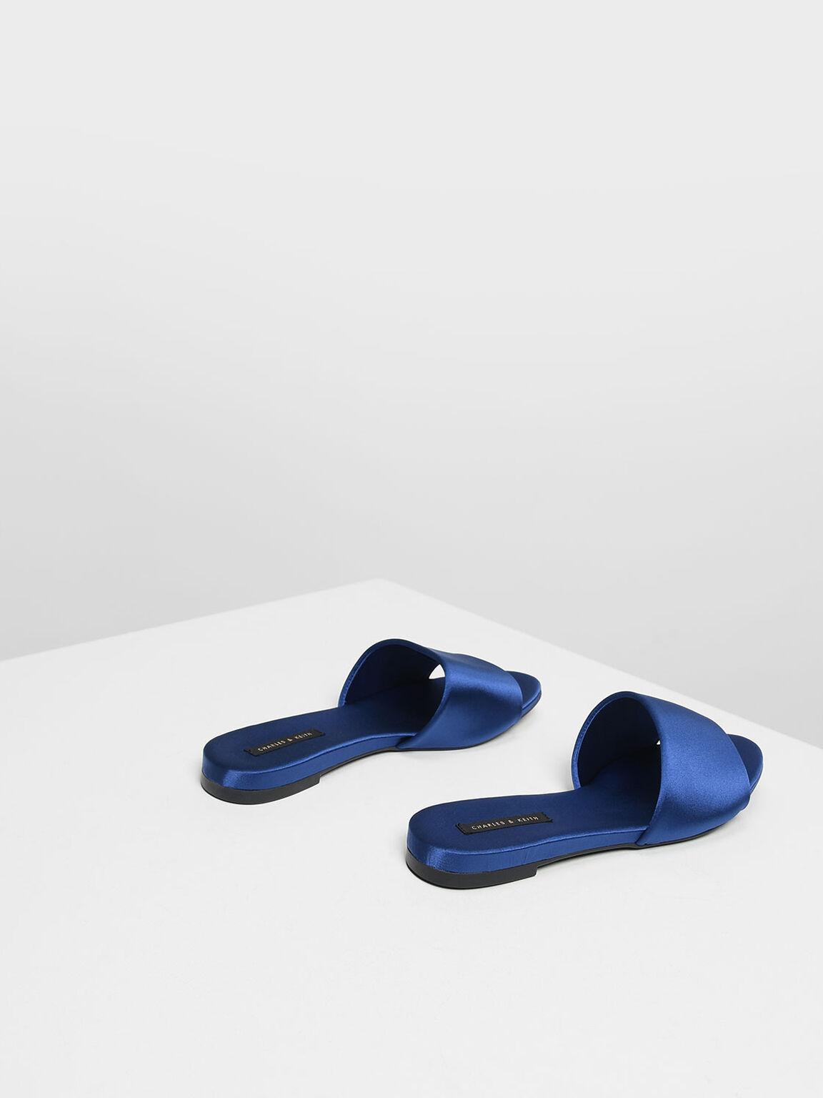 Satin Sliders, Blue, hi-res