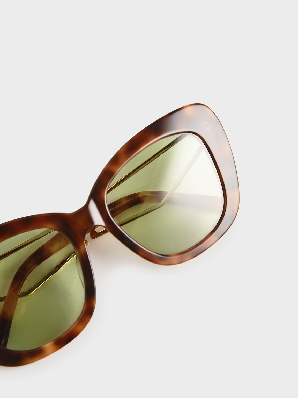 Tortoiseshell Acetate Butterfly Sunglasses, T. Shell, hi-res