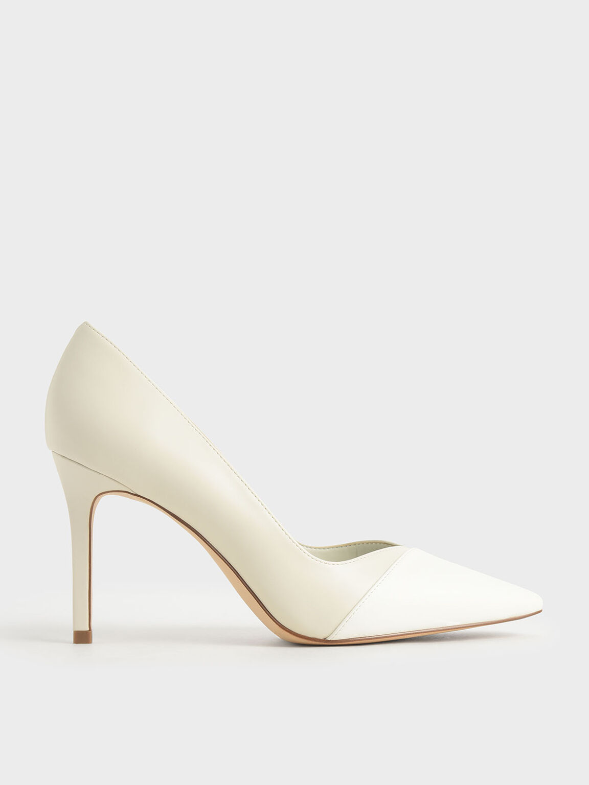 Stiletto Pumps, White, hi-res