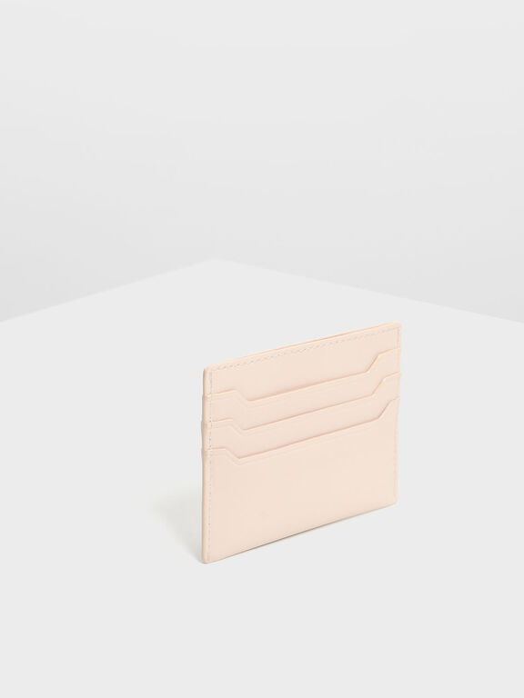 Multicolour Card Holder, Light Pink