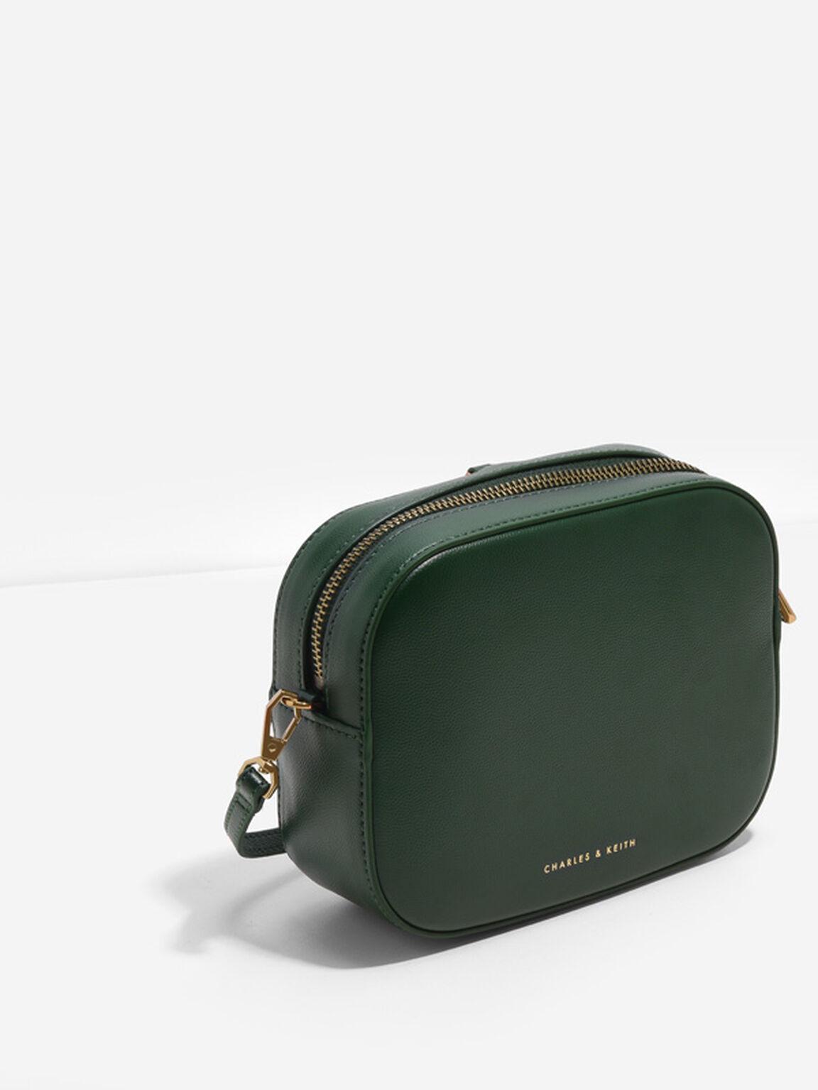 Tassel Clutch, Green, hi-res