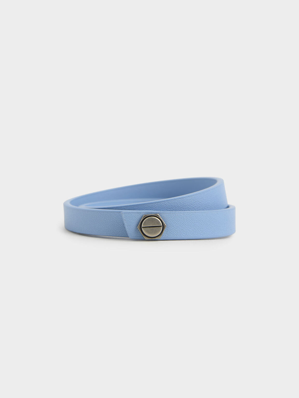 Wrap Around Bracelet, Denim Blue, hi-res