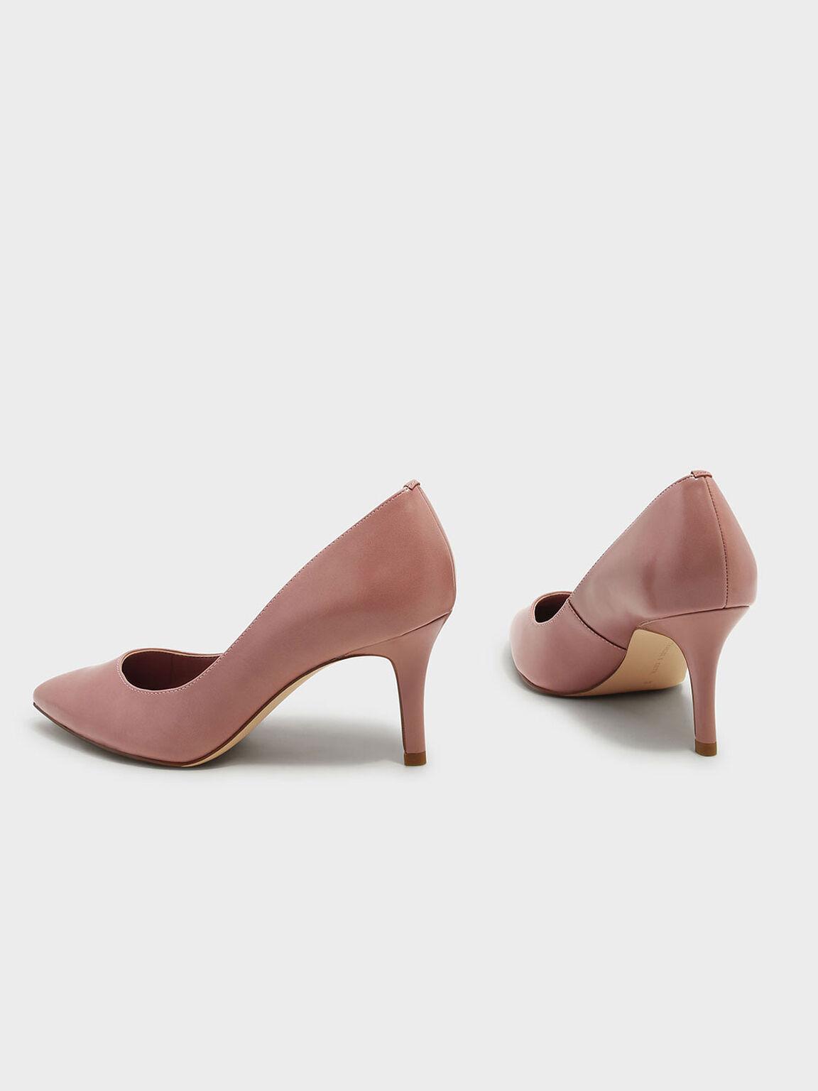 Basic Pointed Pumps, Pink, hi-res