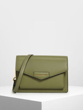 Envelope Bag, Mint Green