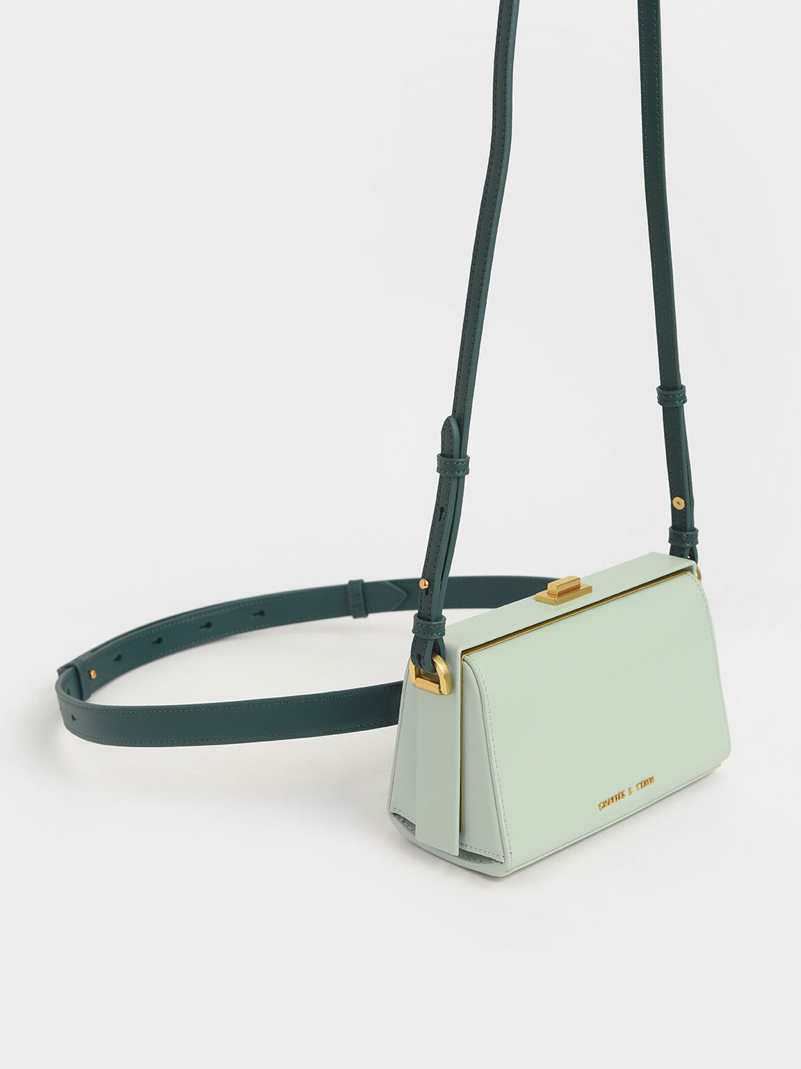 Rectangular Belt Bag, Mint Green, hi-res