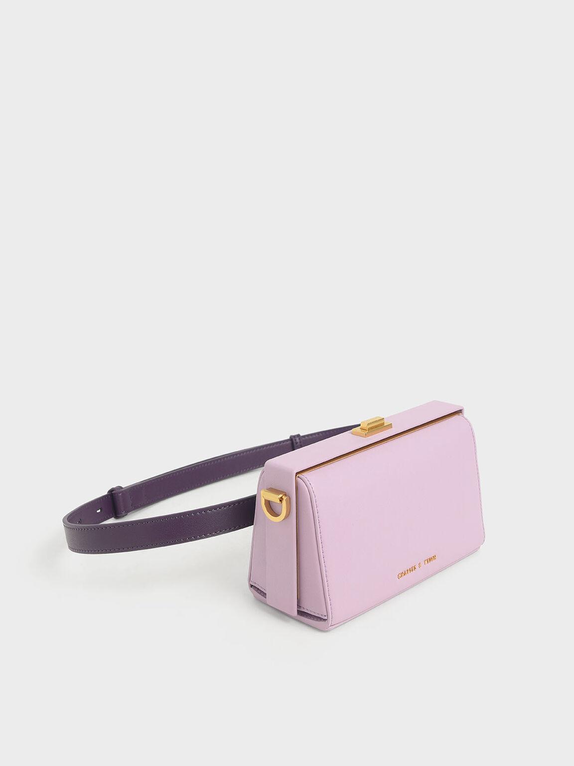 Rectangular Belt Bag, Lilac, hi-res