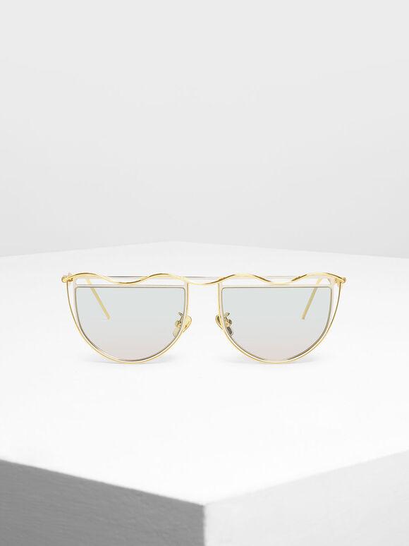세미-서클 선글라스, Multi, hi-res