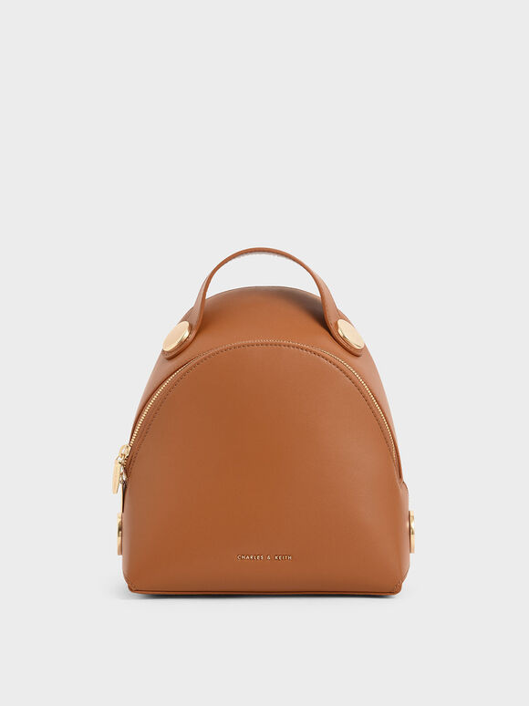 Dome Backpack, Tan, hi-res