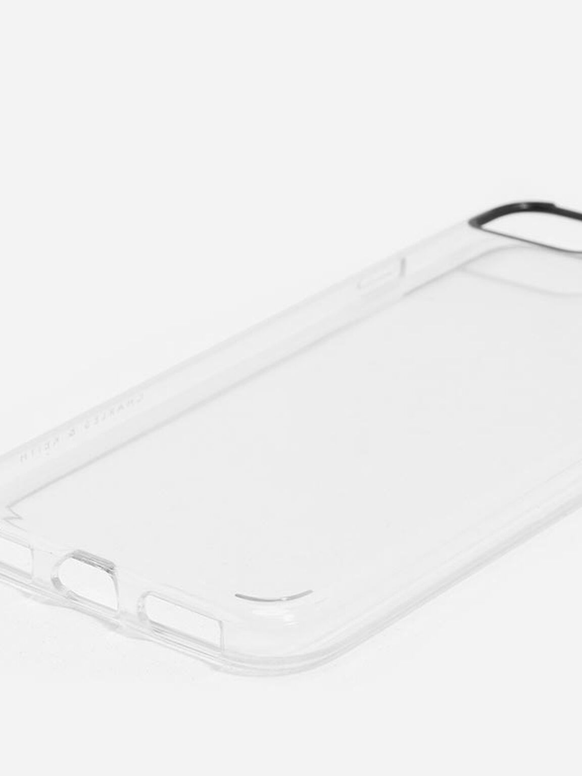 Metallic iPhone Case, White, hi-res