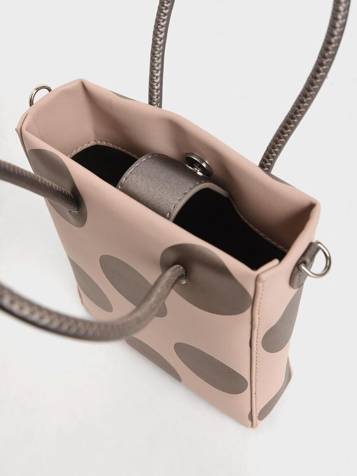 兒童圓點手提包, 粉紅色, hi-res