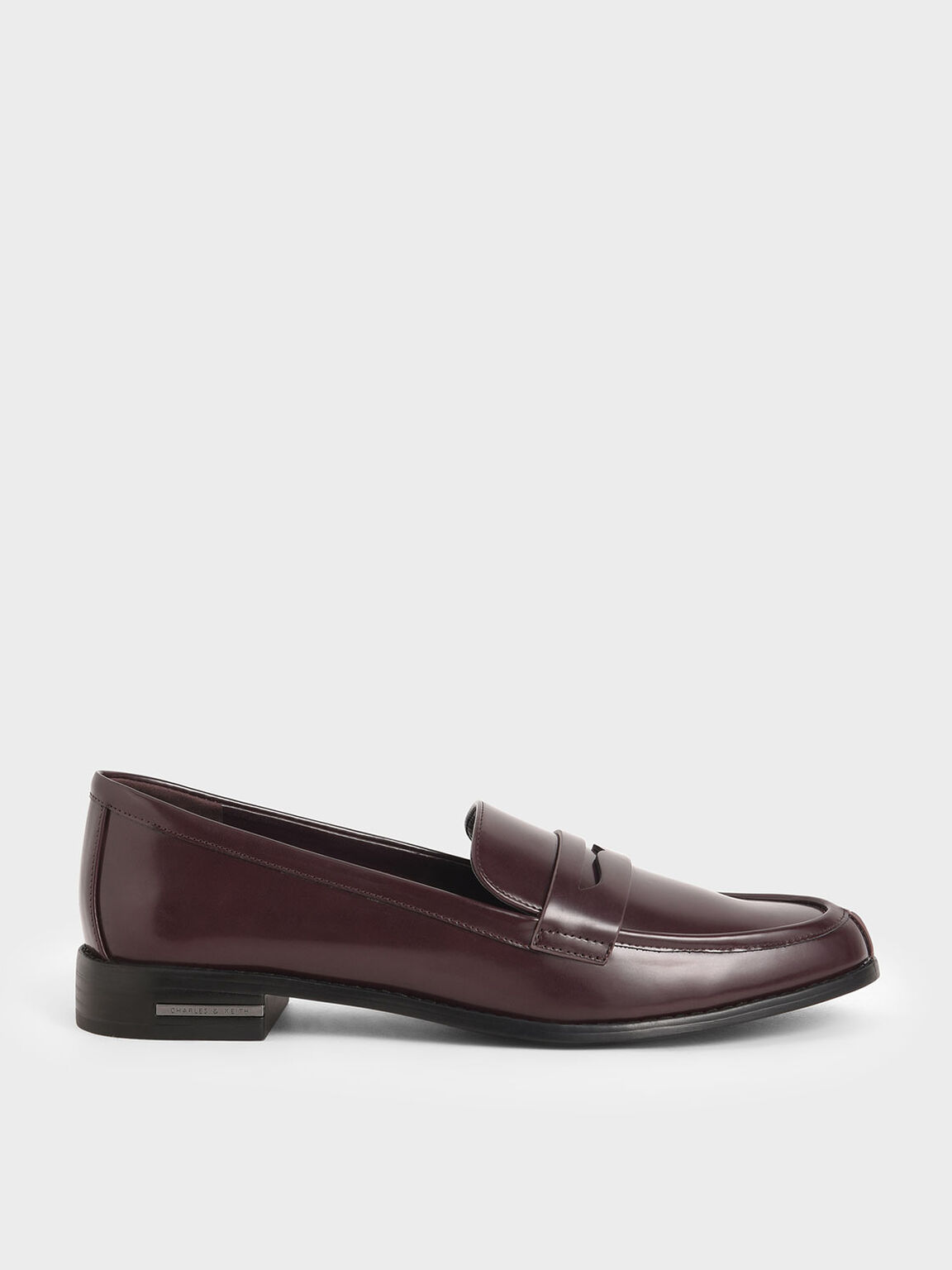 Penny Loafers, Maroon, hi-res