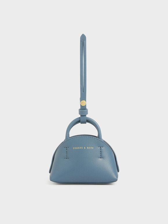 Mini Dome Pouch, Blue, hi-res