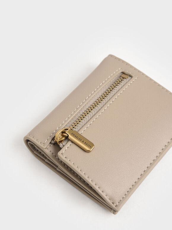 Zip Around Short Wallet, Sand, hi-res