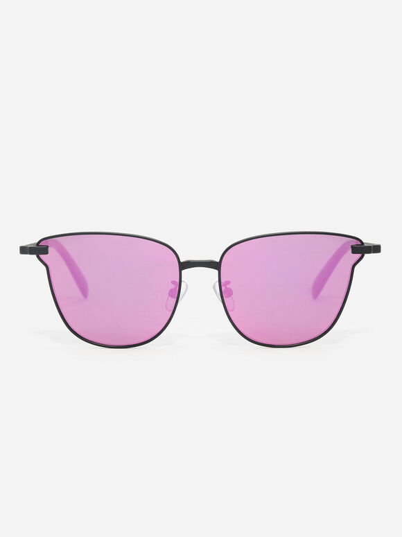 Butterfly Thin Frame Eyewear, Black, hi-res