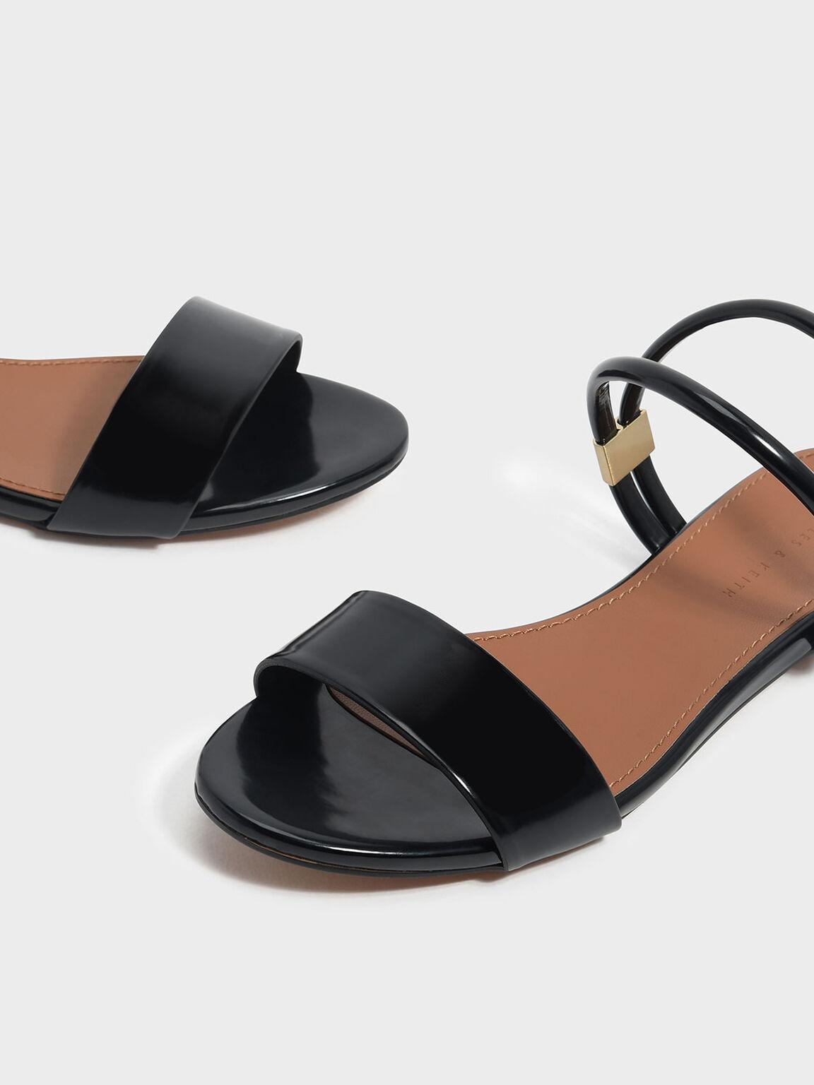 Two Way Sandals, Black, hi-res