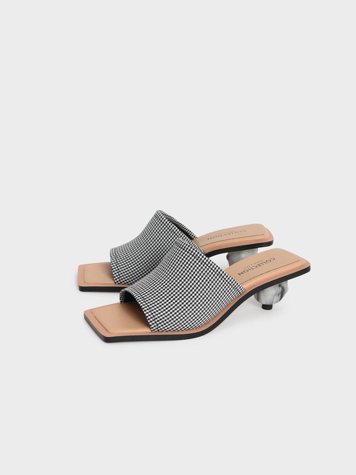 格紋球跟拖鞋, 混色, hi-res