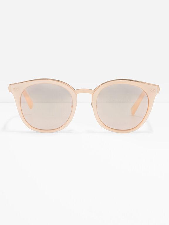 Round Cat Eye Eyewear, Pink, hi-res
