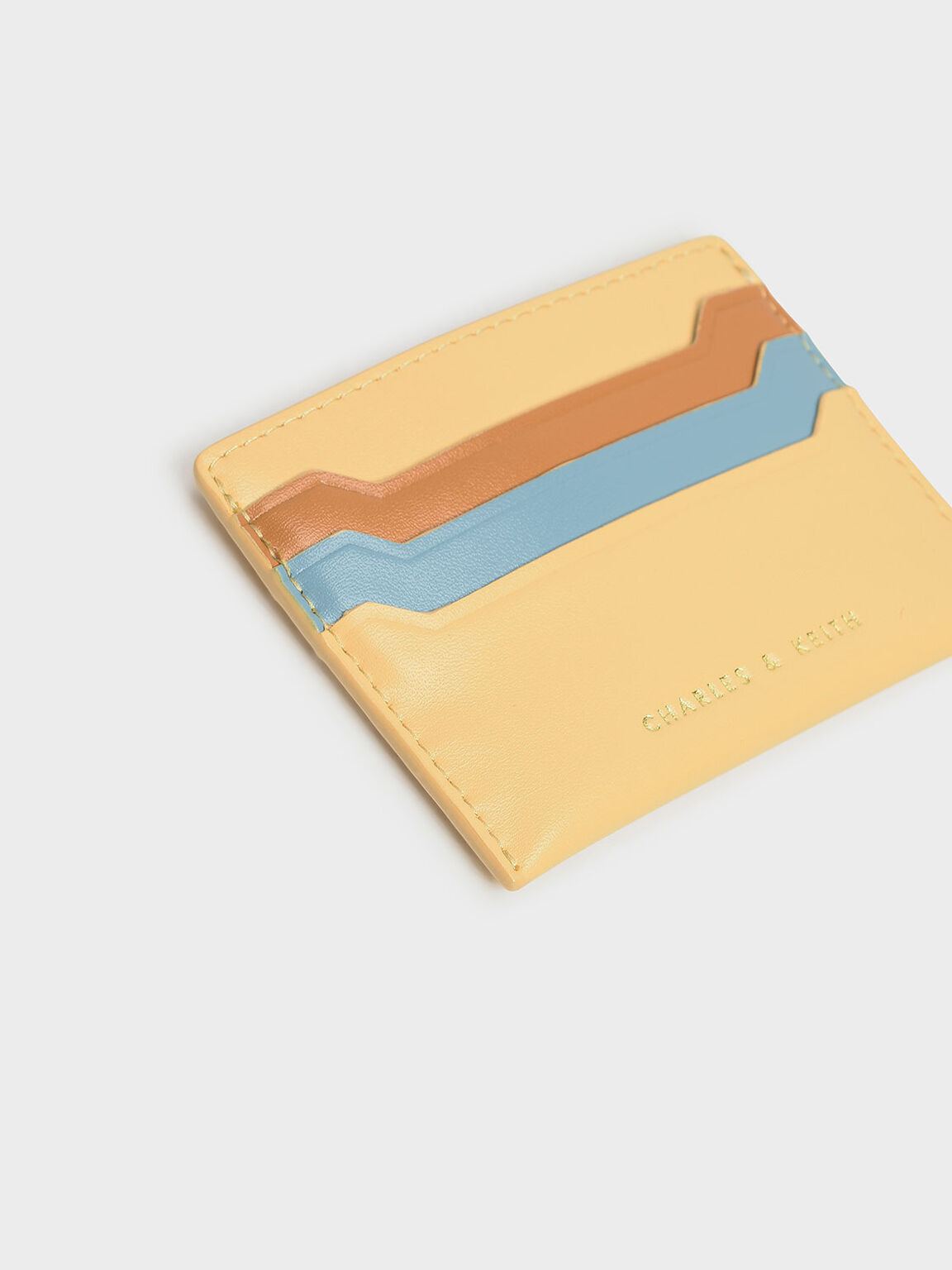 Multicolour Card Holder, Yellow, hi-res