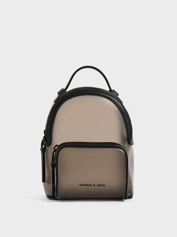 See-Through Backpack, Black, hi-res
