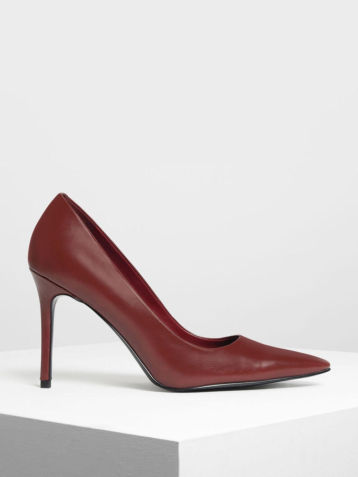 經典款高跟鞋, 紅色, hi-res