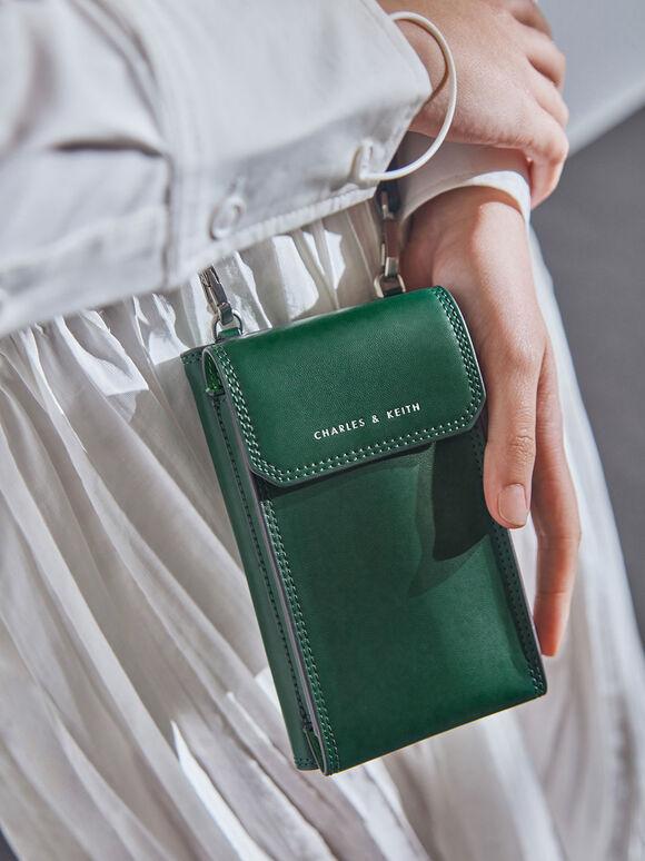 多功能皮夾, 綠色, hi-res