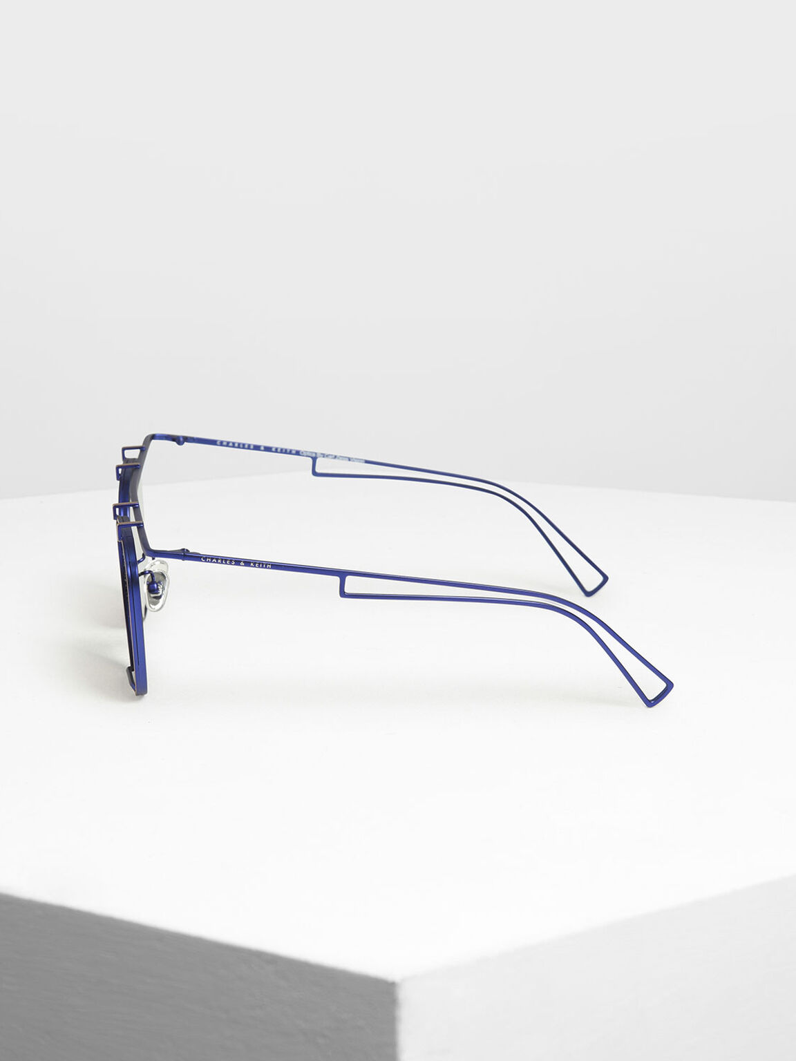 Metal Frame Aviators, Blue, hi-res